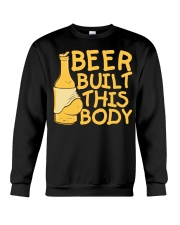Beer Built This Body Crewneck Sweatshirt thumbnail