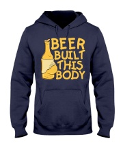 Beer Built This Body Hooded Sweatshirt thumbnail