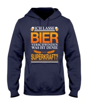Bier Verschwinden Hooded Sweatshirt tile