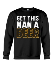Get This Man A Beer Crewneck Sweatshirt thumbnail