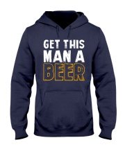 Get This Man A Beer Hooded Sweatshirt tile