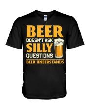 Beer Understands V-Neck T-Shirt thumbnail