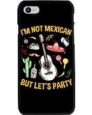 Not Mexican But Let's Party Phone Case thumbnail