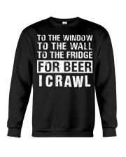 I Crawl Crewneck Sweatshirt thumbnail