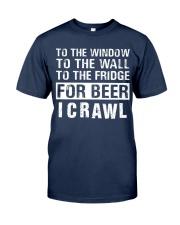 I Crawl Classic T-Shirt front