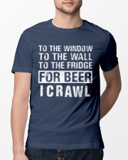 I Crawl Classic T-Shirt lifestyle-mens-crewneck-front-13