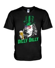 Dilly Dilly Benjamin V-Neck T-Shirt thumbnail