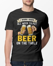 Work Hard All Week Classic T-Shirt lifestyle-mens-crewneck-front-13