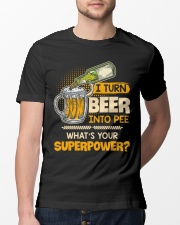 Turn Beer Into Pee Classic T-Shirt lifestyle-mens-crewneck-front-13