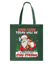 Stay Strong Christmas Tote Bag thumbnail