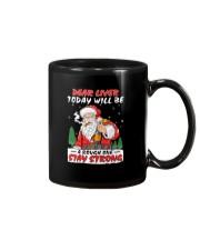 Stay Strong Christmas Mug thumbnail