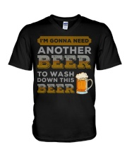 Another Beer V-Neck T-Shirt tile