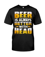 Better With Head Classic T-Shirt front
