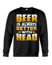 Better With Head Crewneck Sweatshirt thumbnail