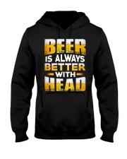 Better With Head Hooded Sweatshirt thumbnail
