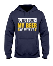 Do Not Touch Hooded Sweatshirt front