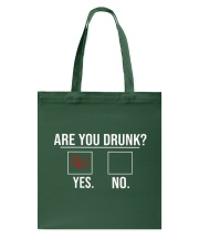 Are you drunk Tote Bag tile