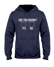 Are you drunk Hooded Sweatshirt tile