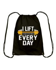 I Lift Everyday Drawstring Bag thumbnail