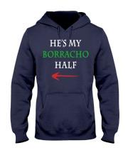 He's My Borracho Half Hooded Sweatshirt thumbnail
