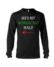 He's My Borracho Half Long Sleeve Tee thumbnail
