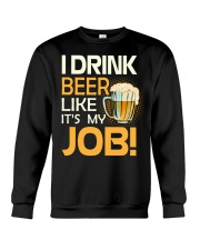 My Job Crewneck Sweatshirt thumbnail