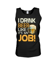 My Job Unisex Tank tile