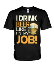 My Job V-Neck T-Shirt thumbnail