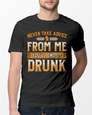 End Up Drunk Classic T-Shirt lifestyle-mens-crewneck-front-13