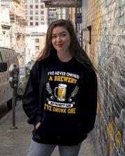 Brewery Hooded Sweatshirt lifestyle-unisex-hoodie-front-1