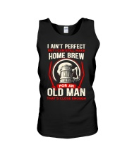 Perfect Old Man Unisex Tank tile