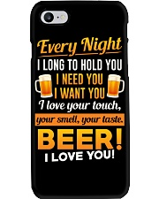 Beer-I Love U Phone Case thumbnail