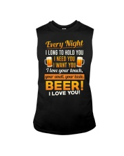 Beer-I Love U Sleeveless Tee thumbnail