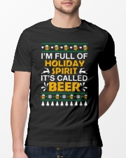 Full Of Holiday Spirit Classic T-Shirt lifestyle-mens-crewneck-front-13