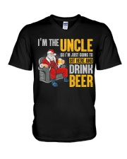 Drink Beer V-Neck T-Shirt thumbnail