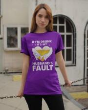 Husband's Fault Classic T-Shirt apparel-classic-tshirt-lifestyle-19
