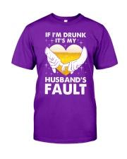Husband's Fault Classic T-Shirt front