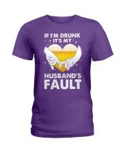 Husband's Fault Ladies T-Shirt thumbnail