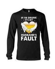 Husband's Fault Long Sleeve Tee thumbnail