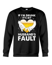 Husband's Fault Crewneck Sweatshirt thumbnail