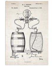 Beer Pump Patent 11x17 Poster front