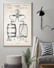 Beer Pump Patent 11x17 Poster lifestyle-poster-1