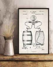 Beer Pump Patent 11x17 Poster lifestyle-poster-3