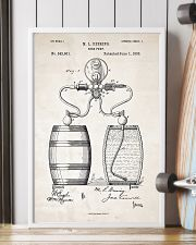 Beer Pump Patent 11x17 Poster lifestyle-poster-4