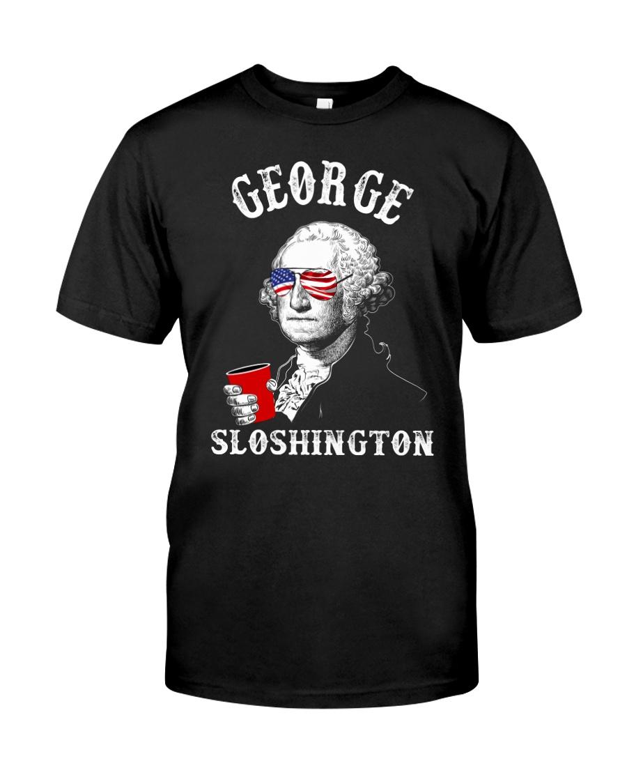 George Sloshington Classic T-Shirt