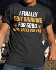Drink For Evil Classic T-Shirt apparel-classic-tshirt-lifestyle-28