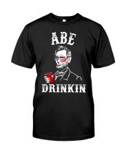 Abe Drinkin Classic T-Shirt front
