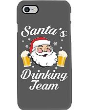 Santa Drinking Team Phone Case thumbnail
