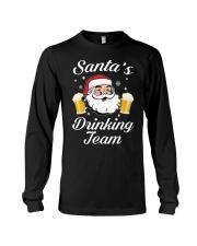 Santa Drinking Team Long Sleeve Tee thumbnail