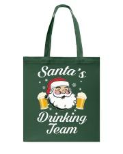 Santa Drinking Team Tote Bag thumbnail